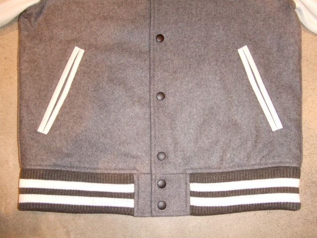 MDY 15th VARSITY JACKET2012 GRAY FT2