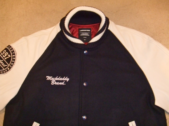 MDY 15th VARSITY JACKET2012 NAVY FT1