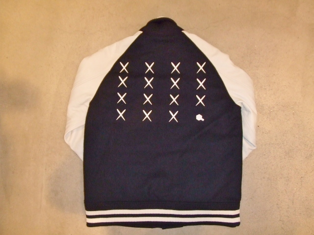 MDY 15th VARSITY JACKET2012 NAVY BK