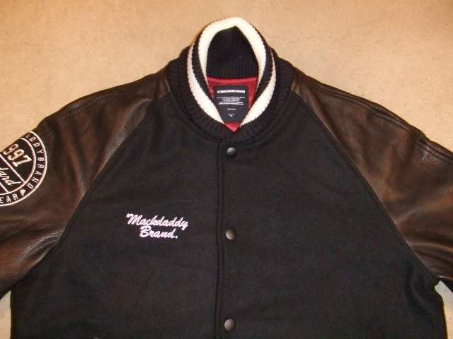 MDY 15th VARSITY JACKET2012 BLACK FT1