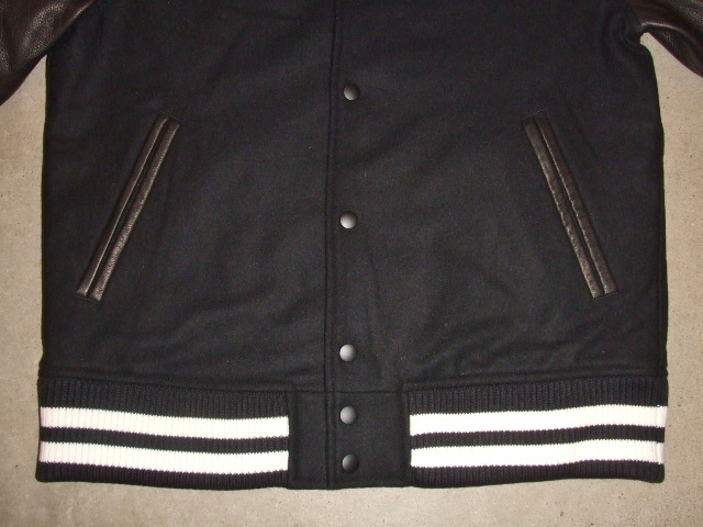 MDY 15th VARSITY JACKET2012 BLACK FT2