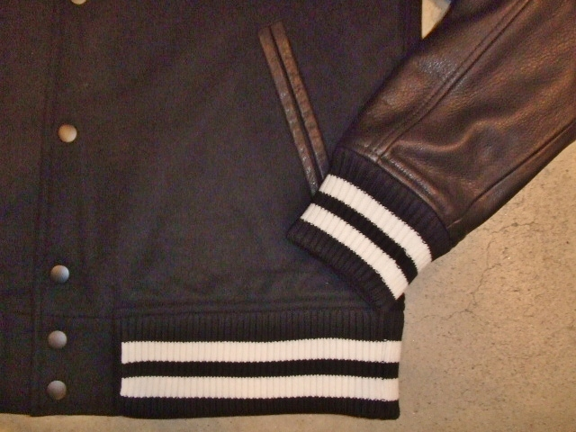 MDY 15th VARSITY JACKET2012 BLACK FT3