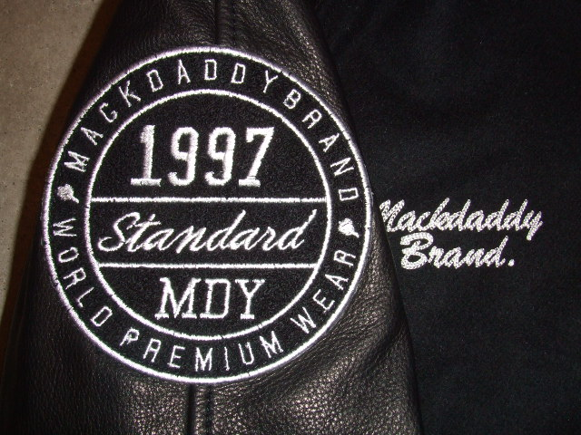 MDY 15th VARSITY JACKET2012 BLACK WP