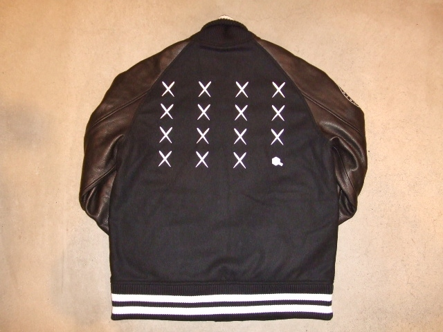 MDY 15th VARSITY JACKET2012 BLACK BK