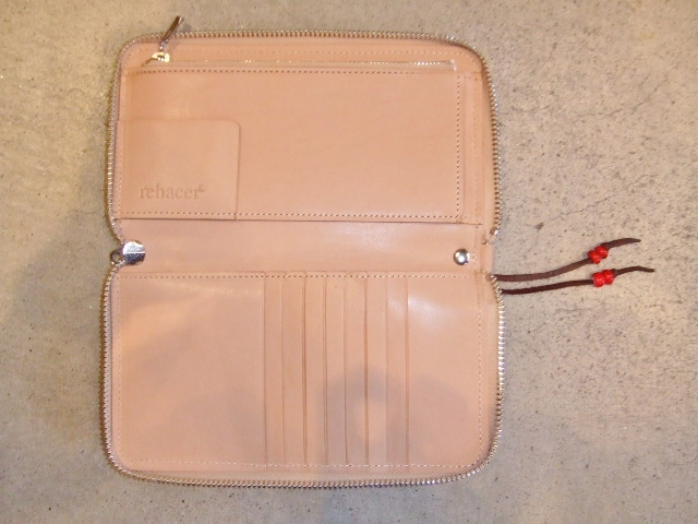 rehacer Pach work zip wallet BEIGE1