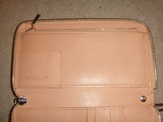 rehacer Pach work zip wallet BEIGE2