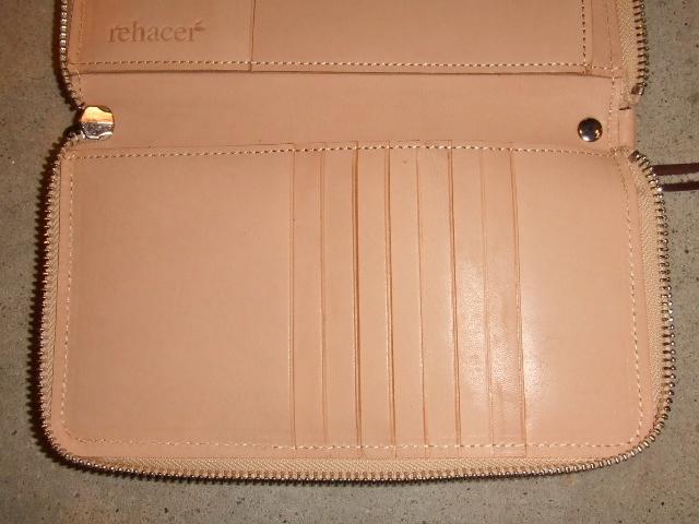 rehacer Pach work zip wallet BEIGE3