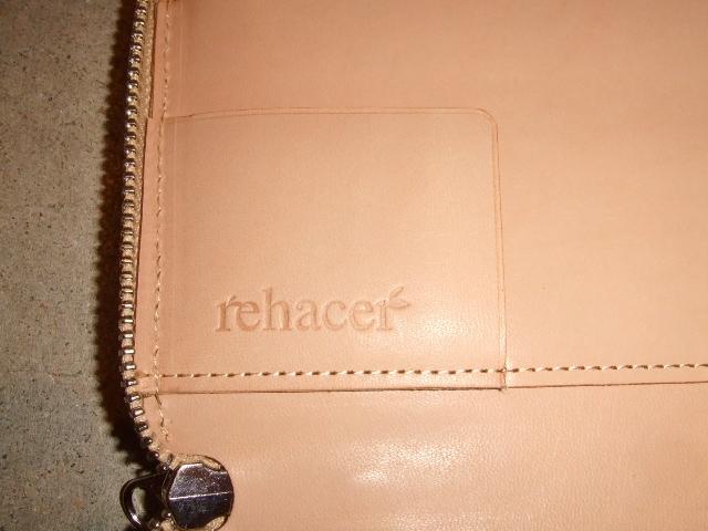rehacer Pach work zip wallet BEIGE4