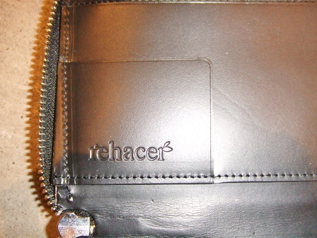 rehacer Pach work zip wallet BLACK4
