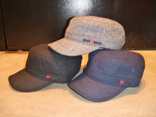 MDY TWEED WORK CAP2