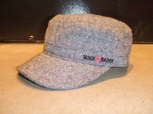 MDY TWEED WORK CAP GRAY FT1