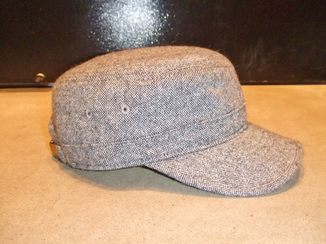 MDY TWEED WORK CAP GRAY FT2