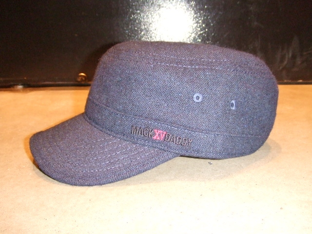 MDY TWEED WORK CAP NAVY FT1