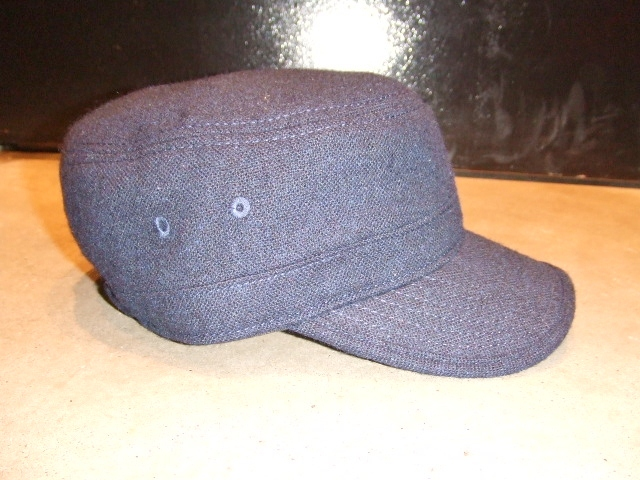 MDY TWEED WORK CAP NAVY FT2