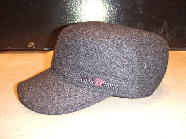 MDY TWEED WORK CAP BLACK FT1