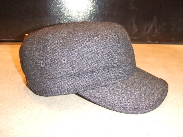MDY TWEED WORK CAP BLACK FT2