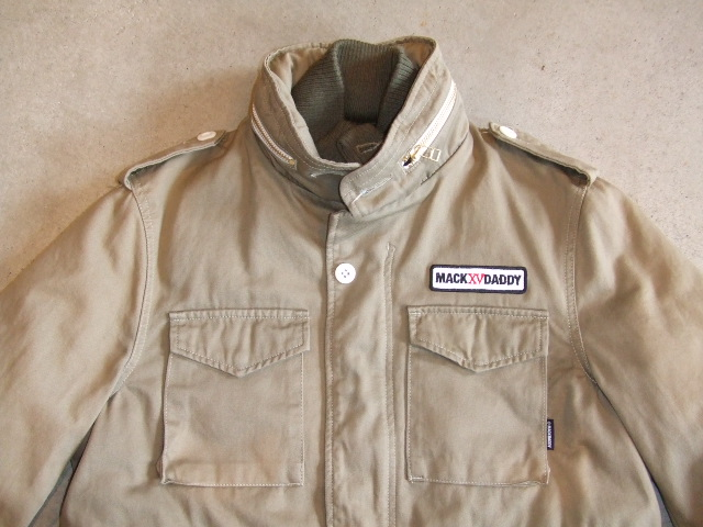MDY M65TYPE JACKET BEIGE FT1