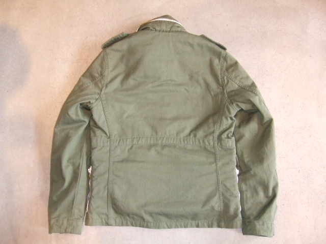 MDY M65TYPE JACKET OD GREEN BK