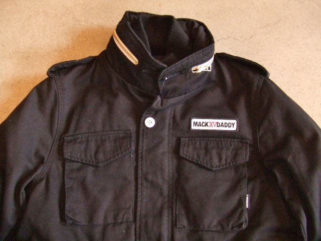 MDY M65TYPE JACKET BLACK FT1