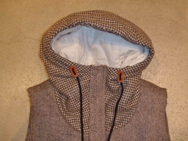 SEEth GIMLET VEST BROWN FT1