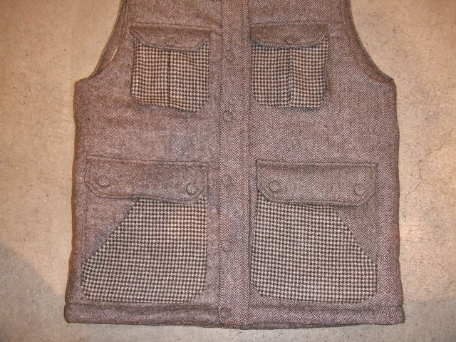 SEEth GIMLET VEST BEIGE FT2