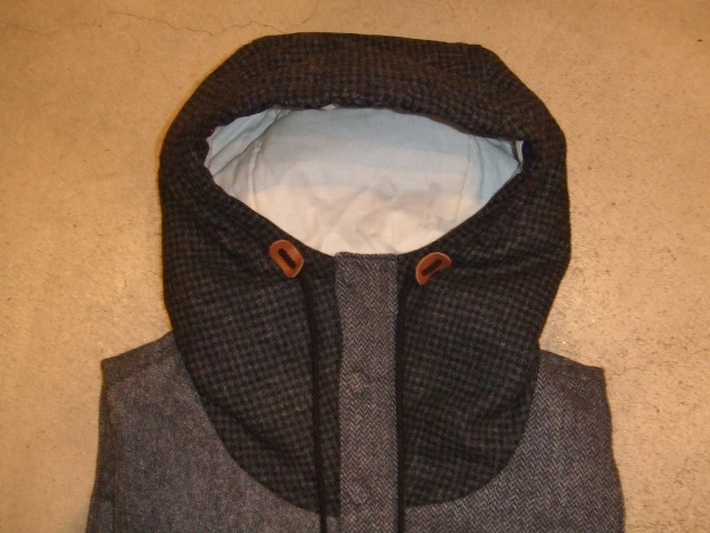 SEEth GIMLET VEST CGRAY FT1