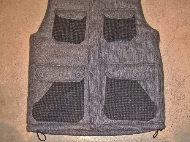 SEEth GIMLET VEST CGRAY FT2