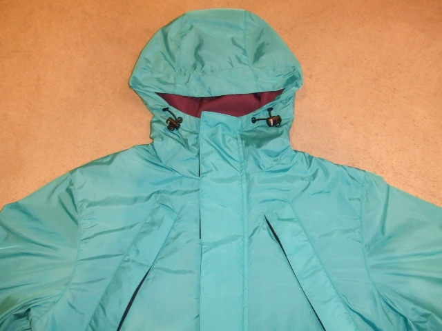 DOARAT TWO TONE MOUNTAIN PARKA TURQUOISE FT1