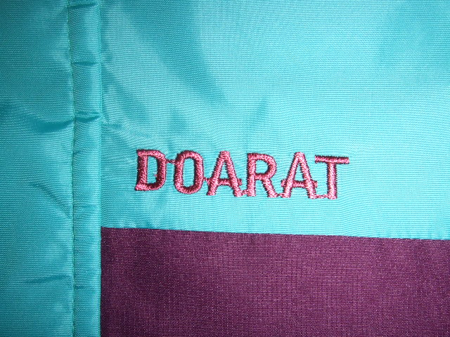 DOARAT TWO TONE MOUNTAIN PARKA TURQUOISE NM1
