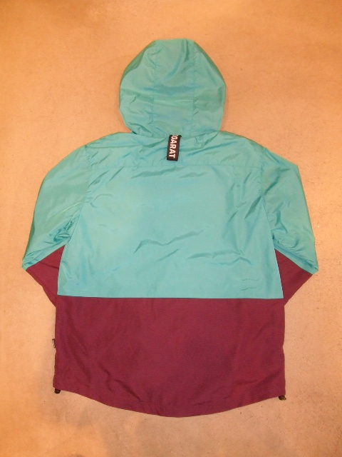 DOARAT TWO TONE MOUNTAIN PARKA TURQUOISE BK