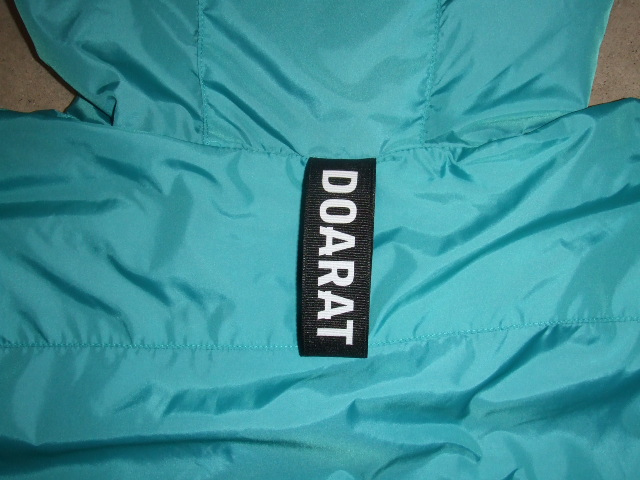 DOARAT TWO TONE MOUNTAIN PARKA TURQUOISE BK NM