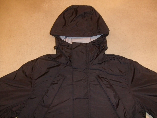 DOARAT TWO TONE MOUNTAIN PARKA BLACK FT1
