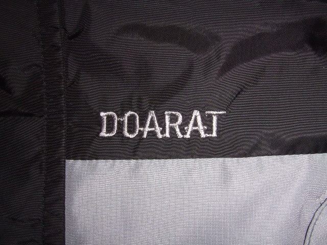 DOARAT TWO TONE MOUNTAIN PARKA BLACK NM1