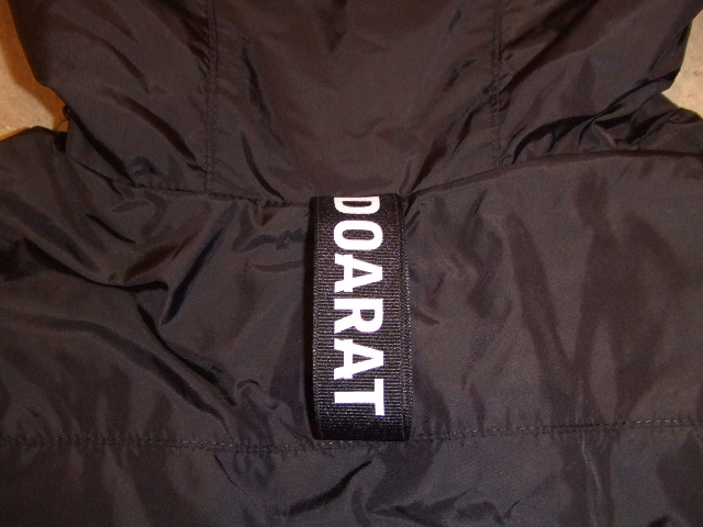 DOARAT TWO TONE MOUNTAIN PARKA BLACK BK NM