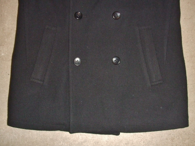 MDY P COAT BLACK FT3