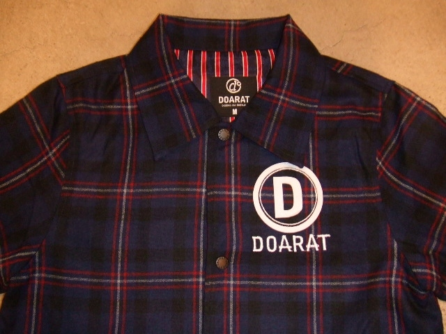 DOARAT CHECK COACH JACKET BLUE FT!