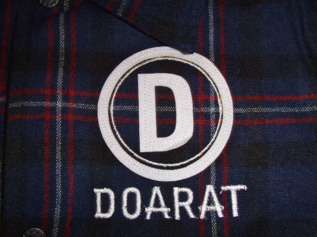 DOARAT CHECK COACH JACKET BULE SS
