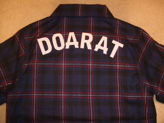 DOARAT CHECK COACH JACKET BULE BK
