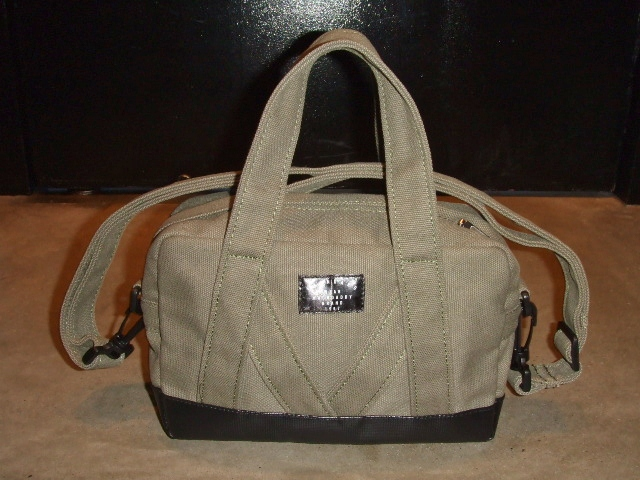 MDY MINI BOSTON BAG KHAKI FT