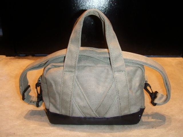 MDY MINI BOSTON BAG KHAKI BK