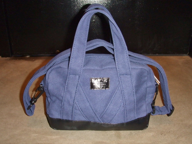 MDY MINI BOSTON BAG NAVY FT