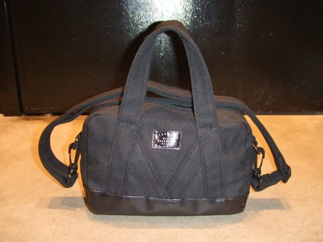 MDY MINI BOSTON BAG BLACK FT