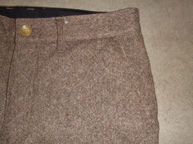 MDY STANDARD WOOL PANTS BROWN PT