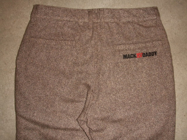 MDY STANDARD WOOL PANTS BROWN BK