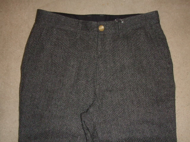 MDY STANDARD WOOL PANTS GRAY FT