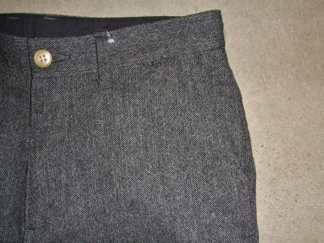 MDY STANDARD WOOL PANTS GRAY PT