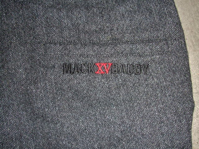 MDY STANDARD WOOL PANTS GRAY BK PT