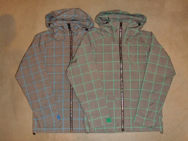 rehacer Seed check jacket
