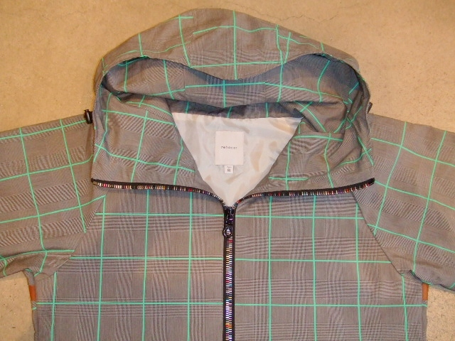 rehacer Seed check jacket green ft1