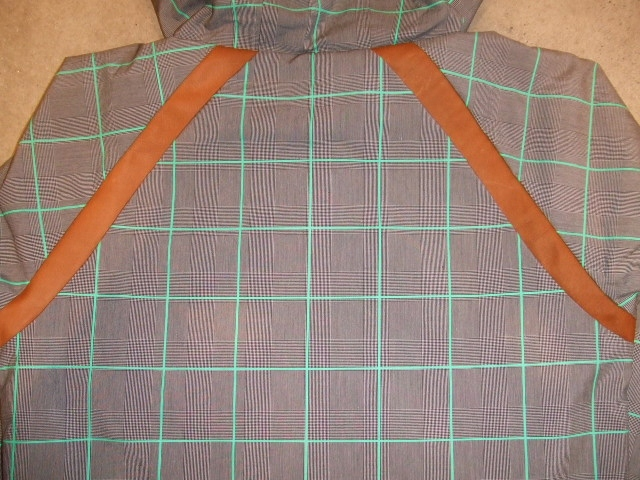 rehacer Seed check jacket green bk2